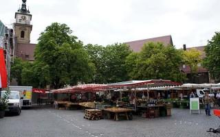 Wochenmarkt Marktplatz Bad Cannstatt